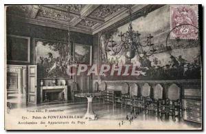 Ansichtskarte AK Palais de Fontainebleau Antichambre des Appartements du Par