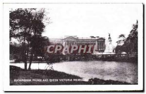 Moderne Karte Buckingham palace and queen Victoria memorial