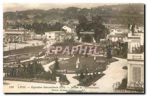 Ansichtskarte AK Lyon Exposition Internationale Jardins de l'Horticuliure Entree Avenue Leclerc
