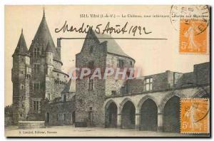 Ansichtskarte AK Vitre I & V Le Chateau cour interieure Partie sud ouest