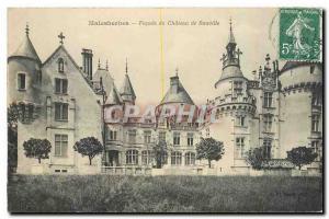 Ansichtskarte AK Malesherbes Facade du Chateau de Rouville
