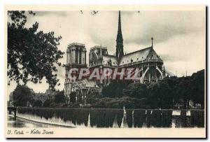 Ansichtskarte AK Paris Notre Dame