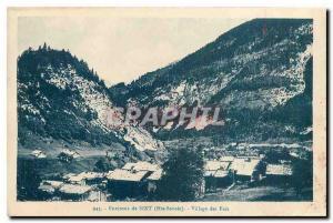 Ansichtskarte AK Environs de Sixt Hte Savoie Village des Faix