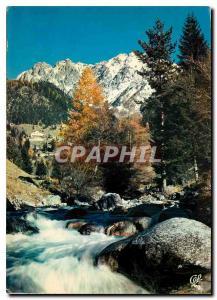 Moderne Karte La Suisse Nicoise Le Boreon aux environs se St Martin Vesubie et le Massif du Pecalo enneige