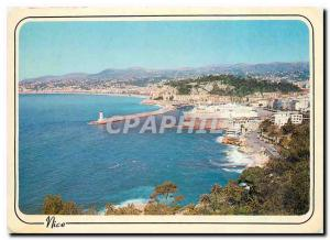 Moderne Karte La Cote d'Azur inoubliable Nice L'Esterel au depart pour la Corse