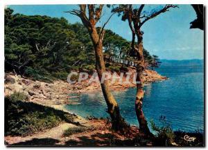 Moderne Karte Reflets de la Cote d'Azur Varoise Porquerolles Var La Perle Iles d'Or