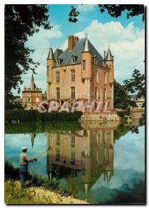 Moderne Karte Le Gatinais Bellegarde du Loiret Loiret Le Chateau monument historique