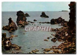 Moderne Karte Le Cap d'Agde Herault Les Rochers et le Fort Brescou