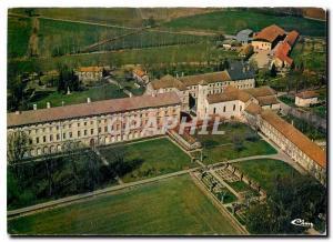 Moderne Karte Abbaye de Citeaux Nuits St Georges Vue generale aerienne