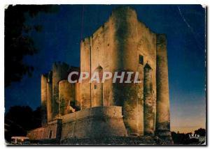 Moderne Karte Niort Deux Sevres Le donjon vu de nuit vestige d'un chateau fort des Comtes de Poitiers