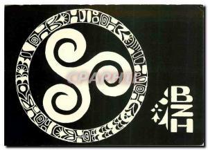 Moderne Karte Le Triskel Symbole des pays celtiques Irlande Ecosse Pays Galles Ile de Man