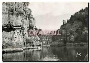 Moderne Karte Lac ou Villers Doubs Les bassins du Dous Rocher Louis Philippe