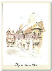 Moderne Karte Dijon Cote d'Or Echauguette de l'Hotel de Berbis