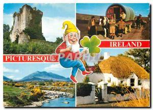 Moderne Karte Ireland Picturesque