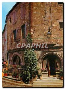 Moderne Karte L'Auvergne Pittoresque Vieilles Maisons a Besse en Chandesse
