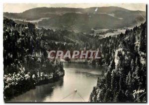 Moderne Karte Frontiere Franco Suisse Villers le Lac Les bassins du Doubs