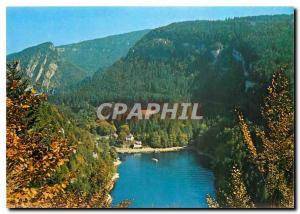 Moderne Karte Villers le Lac et les Bassins du Doubs le Bassin d'arrivee au saut du Doubs et le Pic du Chatela