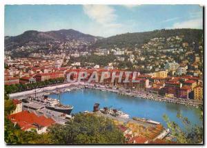 Moderne Karte Nice Le Port et Courrier de la Corse