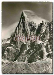 Moderne Karte Chamonix (Haute Savoie) alt 1050m l'Aiguille du Dru (3754 m)