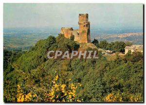 Moderne Karte Chateau de Tournoel (Puy de Dome)