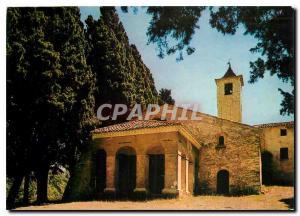 Moderne Karte Cote d'Azur Mougins La Chapelle Notre Dame de Vie