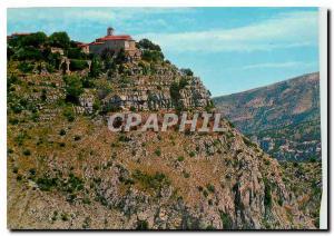 Moderne Karte Gourdon Cote d'Azur French Riviera Excursion des Gorges du Loup