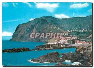 Moderne Karte Madeira Cabo Girao