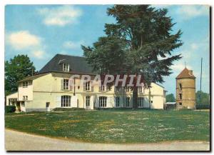 Moderne Karte Courtenay Loiret Le Chateau de Grand Vaulxfins