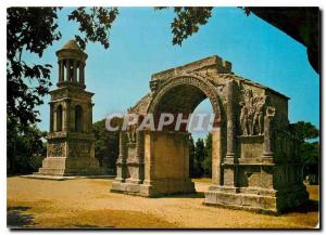 Moderne Karte Saint Remy de Provence Glanum Les Antiques Mausolee des Jules et Porte monumentale de Glanum