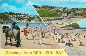 Ansichtskarte AK Greetings from Bennlech Bay