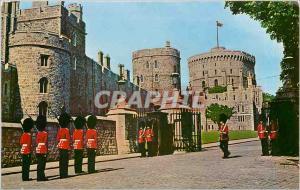 Moderne Karte Changing of the Guard Windsor Castle