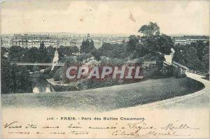 Ansichtskarte AK Paris Parc des Buttes Chaumont