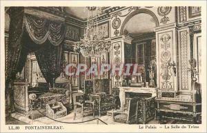 Ansichtskarte AK Fontainebleau Le Palais La Salle du Trone