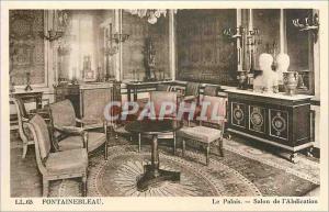 Ansichtskarte AK Fontainebleau Le Palais Salon de l'Abdication