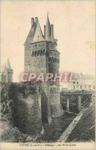 Ansichtskarte AK VITRE(IetV)Chateau-le Pont -Levis