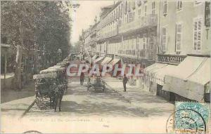 Ansichtskarte AK Vichy La rue Cunin Gridaine