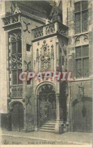 Ansichtskarte AK Bruges Entree de la Bibliotheque