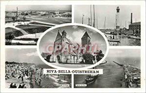 Moderne Karte Riva Bella Ouistreham Les Jardins Le Phare L'Eglise