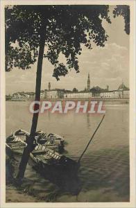 Ansichtskarte AK FIRENZE Veduta dell'Arno Bateau