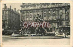 Ansichtskarte AK Vues de Lyon Lyon Fontaine Bartholdi