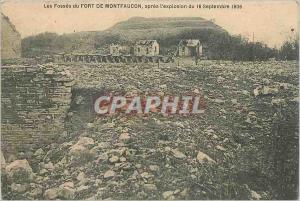 Ansichtskarte AK Les Fosses du Fort de Montfaucon apres l'explosion du 16 Septembre 1906