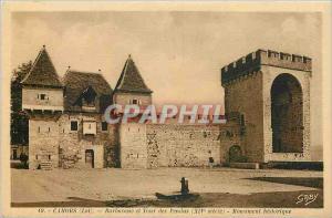 Ansichtskarte AK Cahors Lot Barbacane et Tour des Pendus