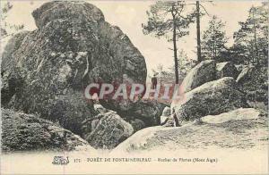 Ansichtskarte AK Foret de Fontainebleau Rocher de Plutus Mont Aigu
