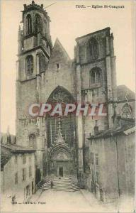 Ansichtskarte AK Toul Eglise St Gengoult