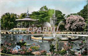 Moderne Karte Toulouse la ville rose le bassin du grand rond et Kiosque