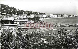 Moderne Karte Cannes AM Vue sur le Port la Promenade et la Croisette