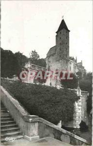 Moderne Karte Auch - Escalier monumental et Tour d'Armagnac