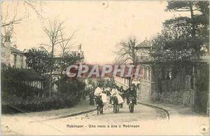 Ansichtskarte AK Robinson  -  Une Noce � ane a Robinson