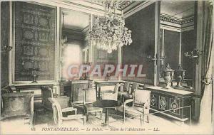 Ansichtskarte AK Fontainebleau - Le Palais -Salon de l'Abdication