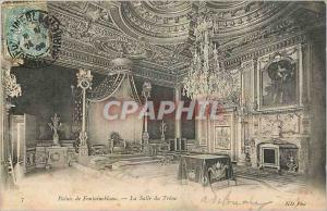Ansichtskarte AK Palais de Fontainebleau La Salle du Trone